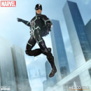 Mezco One:12 Collective Black Bolt and Lockjaw Action Figure