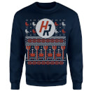 How Ridiculous Ugly Holiday Christmas Sweatshirt - Navy