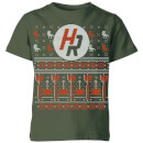 How Ridiculous Ugly Holiday Christmas Kids' T-Shirt - Forest Green