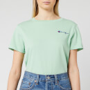 Champion Women's Small Script T-Shirt - Mint Green