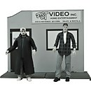 Diamond Select Clerks Black & White 20th Anniversary Edition Action Figure - Silent Bob