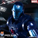 Mezco One:12 Collective Marvel Iron Man Stealth Armor Suit Figure - Previews Exclusive