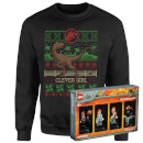 Jurassic Park Limited Edition Lego Minifigures and Christmas Jumper Bundle