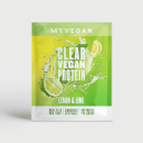 Myvegan Clear Vegan Protein, 16g (Sample) - 16g - Limão e Lima
