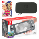 Nintendo Switch Lite (Grey) Pokémon Shield Pack