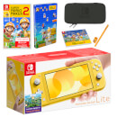 Nintendo Switch Lite (Yellow) Super Mario Maker 2 Pack