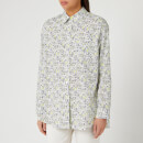 PS Paul Smith Women's Rabbit Print Shirt - White/Black