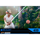 Hot Toys Star Wars Episode IX Rey and D-O 1:6 Scale Action Figure