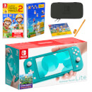 Nintendo Switch Lite (Turquoise) Super Mario Maker 2 Pack