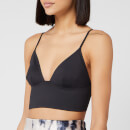 Free People Women's Sage Longline Bralette - Black