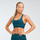 Power Mesh Sports Bra - Deep Lake - XS