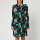 KENZO Women's Sea Lily Shirt Dress - Black
