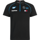 Black Replica Team Polo Shirt