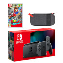 Nintendo Switch (Grey) Super Mario Odyssey Pack