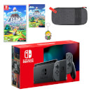 Nintendo Switch (Grey) The Legend of Zelda: Link's Awakening Pack