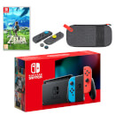 Nintendo Switch (Neon Blue/Neon Red) The Legend of Zelda: Breath of the Wild Pack