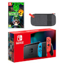 Nintendo Switch (Neon Blue/Neon Red) Luigi's Mansion 3 Pack