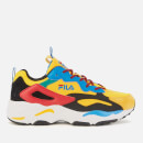 FILA Men's Ray Tracer Festival Trainers - Freesia/Black/Aster Blue