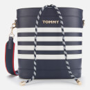 Tommy Hilfiger Women's Item Staple Bucket Bag - Sky Captain