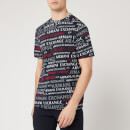 Armani Exchange Men's All Over Print T-Shirt - All Over Navy