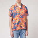 Nudie Jeans Men's Arvid Flowers Short Sleeve Shirt - Multi