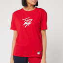 Tommy Hilfiger Women's Sleep Cn T-Shirt - Tango Red