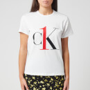 Calvin Klein Women's Sleep Short Sleeve Crew Neck T-Shirt - White