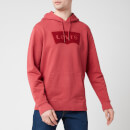 Levi's Men's Graphic Hoodie - Earth Red