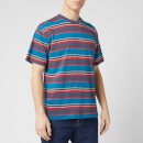 Edwin Men's Quarter T-Shirt - Ebony Stripes