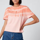 Tommy Jeans Women's Summer Tie Dye T-Shirt - Sweet Peach Multi