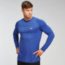 MP Men's Performance Long-Sleeve Top - Colbalt Marl - M