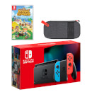 Nintendo Switch (Neon Blue/Neon Red) Animal Crossing: New Horizons Pack