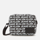 Calvin Klein Jeans Women's Sport Essentials Multi Logo Camera Bag - Black/White