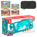 Nintendo Switch Lite (Turquoise) Pokémon Mystery Dungeon: Rescue Team DX Pack