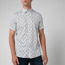 Ted Baker Men's Krosa Leaf Print Shirt - Navy