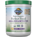 Raw Organic Perfect Food Alkalizer and Detoxifier Lemon-Ginger 282g Powder