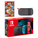 Nintendo Switch (Neon Blue / Neon Red) LAYTON'S MYSTERY JOURNEY: Katrielle and the Millionaires' Conspiracy - Deluxe Edition Pack