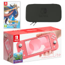 Nintendo Switch Lite (Coral) Pokémon Sword Pack