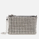 Alexander Wang Women's Wangloc Nano Crystal Pouch Crystal - White