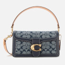 Coach 1941 Women's Signature Chambray Tabby Shoulder Bag 26 - Midnight Navy Multi