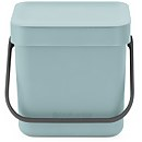 Brabantia Sort & Go 3 Litre Waste Bin - Mint
