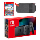Nintendo Switch (Grey) Go Vacation - Digital Download Pack