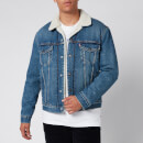 Levi's Men's Type 3 Sherpa Trucker Jacket - Fable