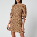 Faithfull the Brand Women's Fontane Mini Dress - Charlie Leopard