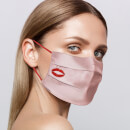 Slip Reusable Face Covering - Pink Kiss