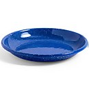 HAY Enamel Deep Plate - Blue Dust - L