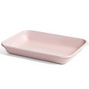 HAY Enamel Rectangular Tray - Soft Pink