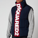 Dsquared2 Men's Padded Gilet - Navy Blue