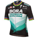Sportful Bora Hansgrohe Ex World Champion BodyFit Team Jersey - Black/Green