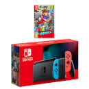 Nintendo Switch (Neon Blue/Neon Red) Super Mario Odyssey Pack